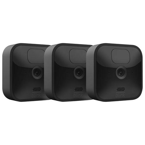 Blink Outdoor Wire-Free 1080p IP Security Camera System 3-Pack. Image via Best Buy.