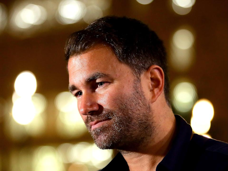 Boxing promoter Eddie Hearn (Getty Images)