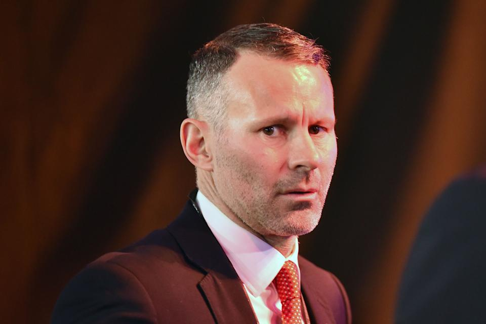 Wales' coach Ryan Giggs arrives to attend the UEFA Euro 2020 football competition final draw in Bucharest on November 30, 2019. (Photo by Daniel MIHAILESCU / AFP) (Photo by DANIEL MIHAILESCU/AFP via Getty Images) (Photo: DANIEL MIHAILESCU via Getty Images)