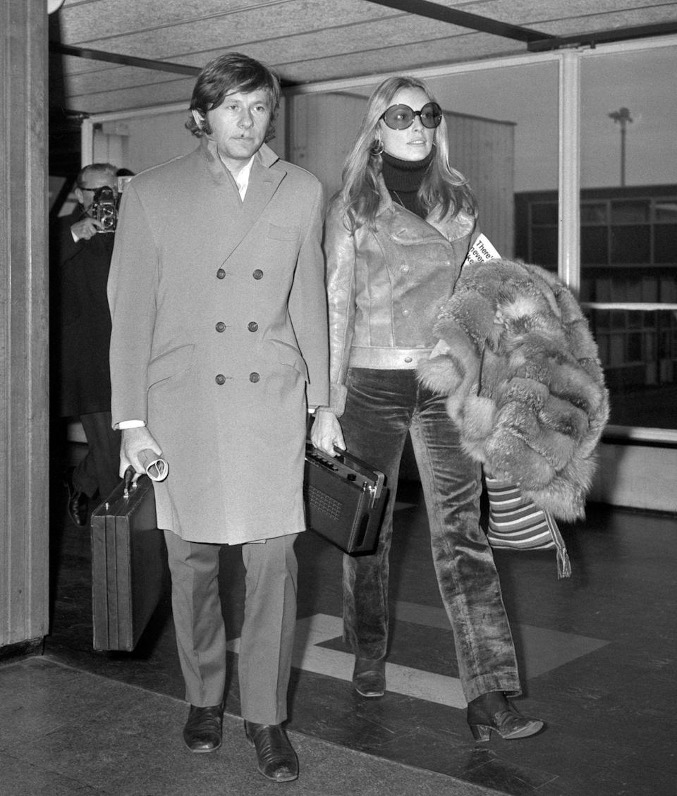 <p>After their wedding, the celebrity couple established their home in Polanski's London apartment. </p>