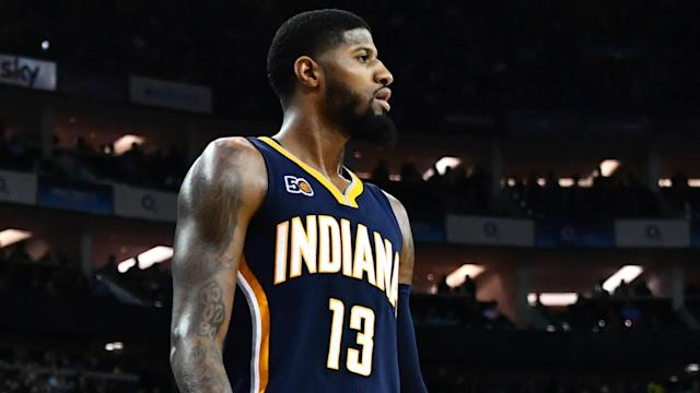 Paul George shocked the front office by having his agent tell them he didn't want to play there anymore.