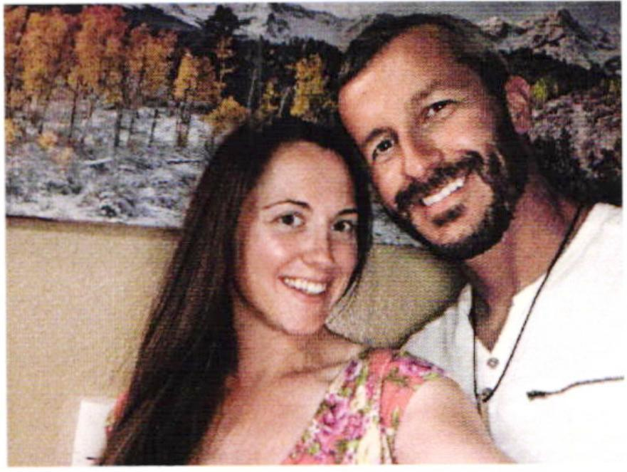 Nichol Kessinger, at left, with Chris Watts
