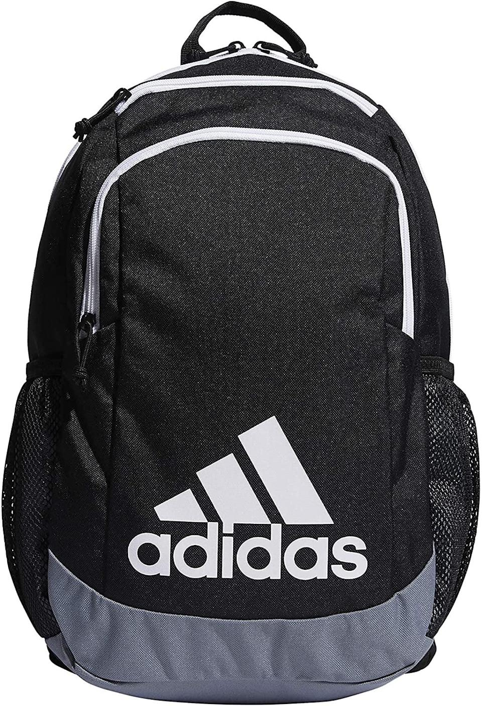 <p>The <span>adidas Youth Kids-Boy's/Girl's Young Creator Backpack</span> ($35, originally $40) is perfect for your child's academic life and after school practice. It's so stylish and sleek, anyone can use it! It has a roomy main compartment and a big pocket on the outside for larger items along with two zip pockets for snacks and small gear. </p>