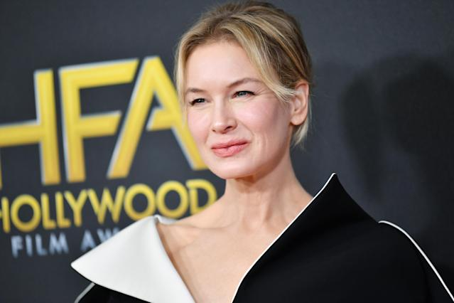 Renée Zellweger attends the 23rd Annual Hollywood Film Awards at The Beverly Hilton Hotel on November 03, 2019 in Beverly Hills, California. (Photo by Amy Sussman/FilmMagic)