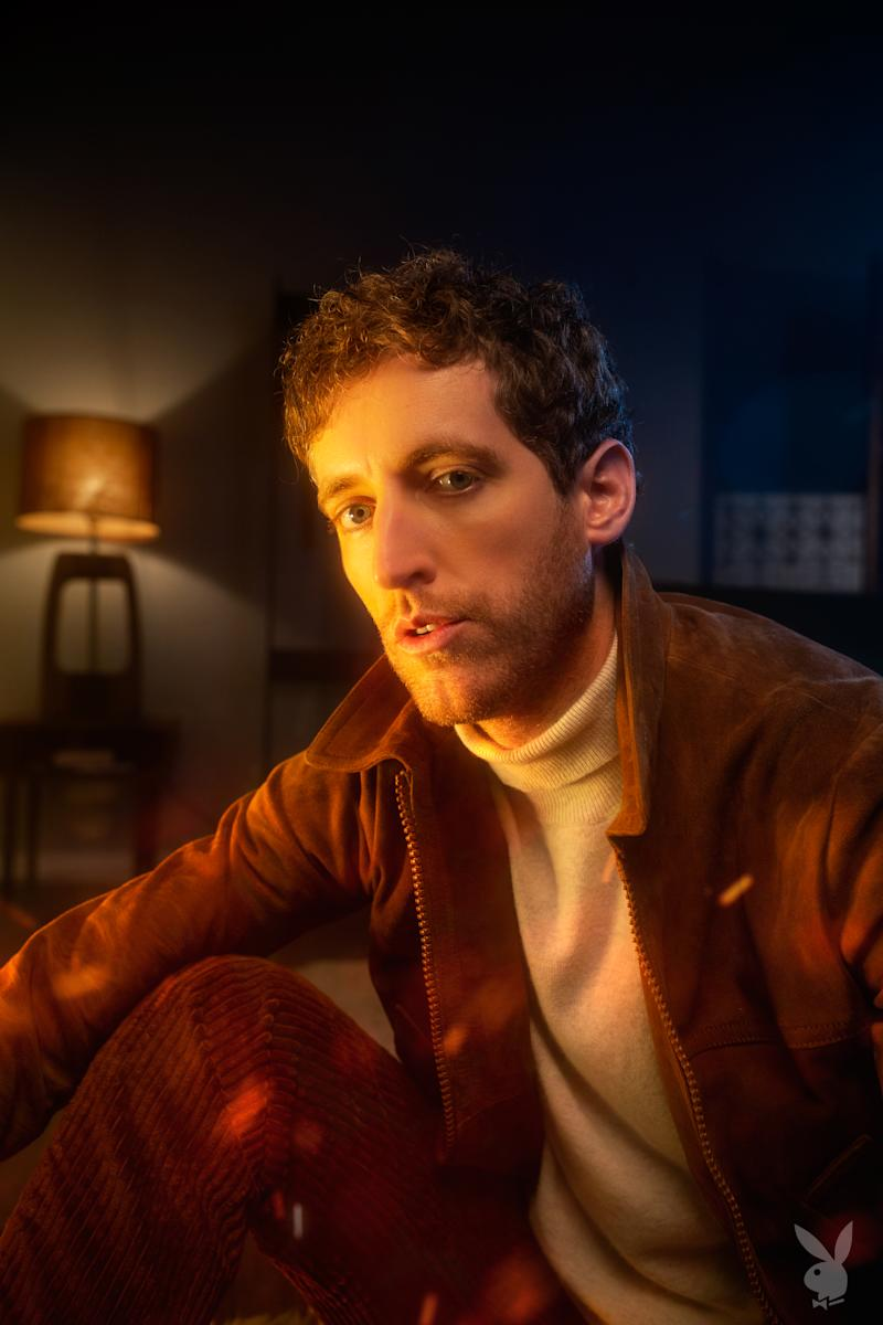 Thomas Middleditch for 'Playboy.' (Photo: Julian Buchan)
