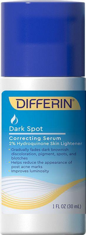 """<p><strong>Differin</strong></p><p>ulta.com</p><p><strong>$21.99</strong></p><p><a href=""""https://go.redirectingat.com?id=74968X1596630&url=https%3A%2F%2Fwww.ulta.com%2Fp%2Fdark-spot-correcting-serum-pimprod2007547&sref=https%3A%2F%2Fwww.oprahdaily.com%2Fbeauty%2Fg36792186%2Fbest-products-for-acne-scars%2F"""" rel=""""nofollow noopener"""" target=""""_blank"""" data-ylk=""""slk:Shop Now"""" class=""""link rapid-noclick-resp"""">Shop Now</a></p><p>Those with Black or brown skin know all too well that acne blemishes often leave behind dark spots. This phenomena, known as post-inflammatory hyperpigmenation, can be difficult to treat. This gel comes to the rescue, with the highest concentration of a powerful dermatologist-recommended lightening ingredient available over the counter.</p>"""