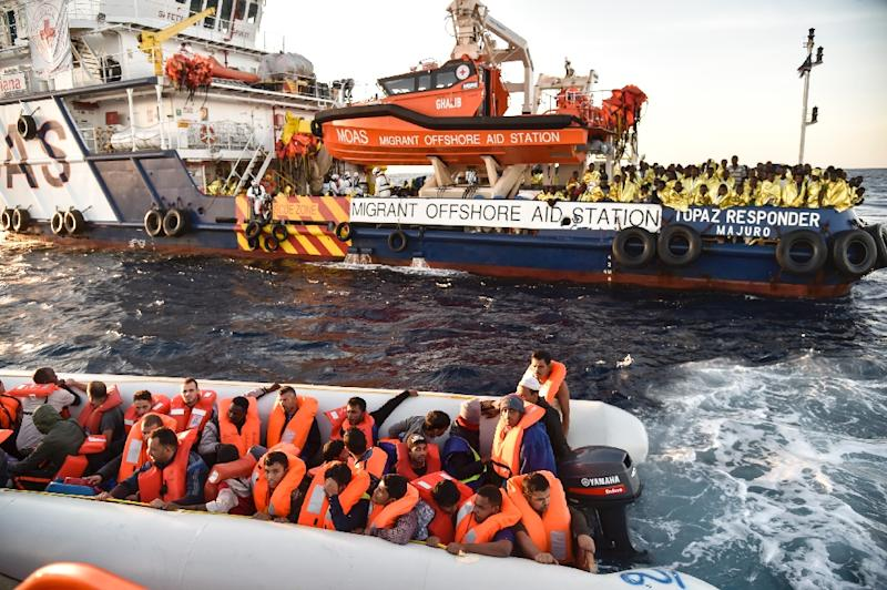 100 missing in Med Sea after migrant boat capsized