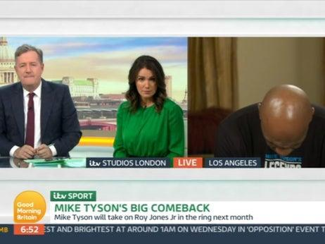 Mike Tyson on GMB (ITV)
