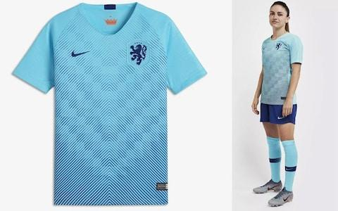 Netherlands away kit, 2019 Women's World Cup - Credit: NIKE