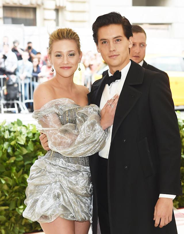 Cole Sprouse and Lili Reinhart. (Photo: Getty Images)