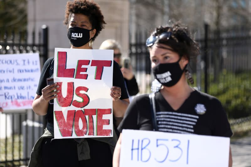 FILE PHOTO: Protest against House Bill 531 in Atlanta
