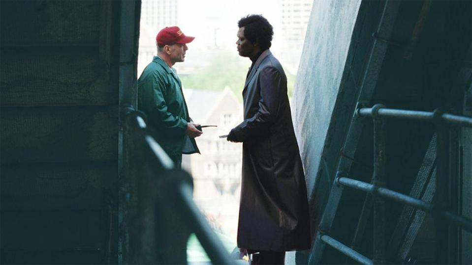 <p> A self-confessed comic book fan, director M. Night Shyamalan, master of the twist, decided not to adapt an already established superhero story and instead created something entirely original. </p> <p> Unbreakable makes for a remarkably subtle character study compared to some of the bigger-budget superhero flicks on this list, telling the tale of security guard David Dunn (Bruce Willis) who has to come to grips with his abilities, all while dealing with the shady Elijah Price (Samuel L. Jackson). There's no spandex; no moral ranting about responsibility, just a look at what having superpowers may actually look like. </p> <p> <strong>Best superhero moment: </strong>David's son adds extra weight onto his father's dumbbells without Dad knowing. David lifts it anyway. </p>