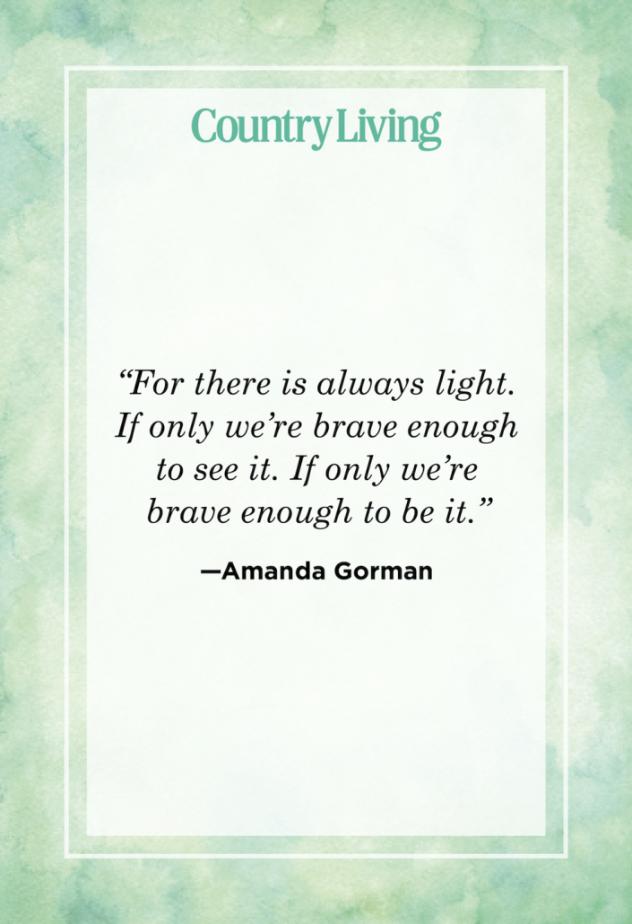 """<p>""""For there is always light. If only we're brave enough to see it. If only we're brave enough to be it.""""</p>"""