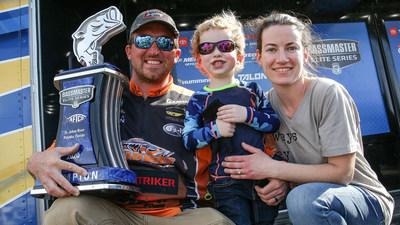 Paul Mueller, of Naugatuck, Conn., has won the AFTCO Bassmaster Elite at St. Johns River with a three-day total of 47 pounds, 6 ounces.