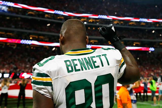Packers' Tight End Martellus Bennett May Retire At End Of NFL Season
