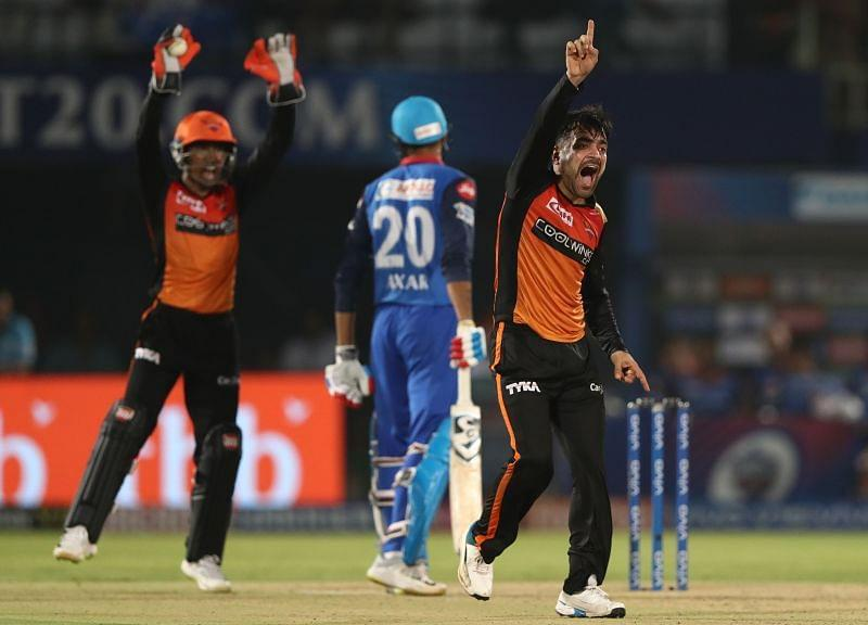 Can Rashid Khan inspire the Sunrisers Hyderabad to their second consecutive win over the Delhi Capitals in IPL 2020?