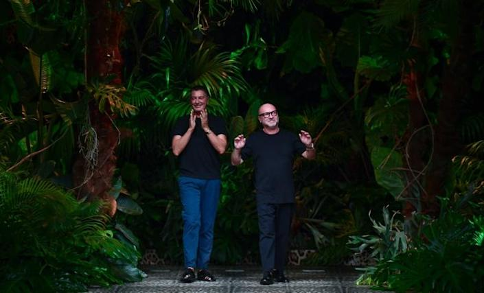 With star-studded runway shows and in-person appointments now very difficult, Dolce & Gabbana say they have been forced to hustle, recalling their early days in the mid-1980s