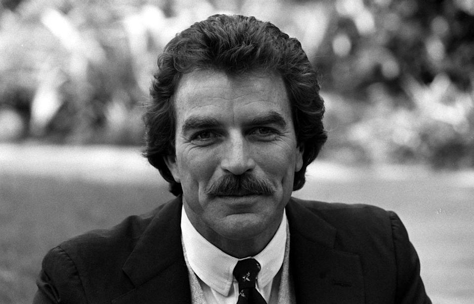 <p>The <em>Magnum, P.I.</em> actor's rugged good looks and '80s flair had a lot to do with his signature mustache, which was equal parts bold and dapper.</p>