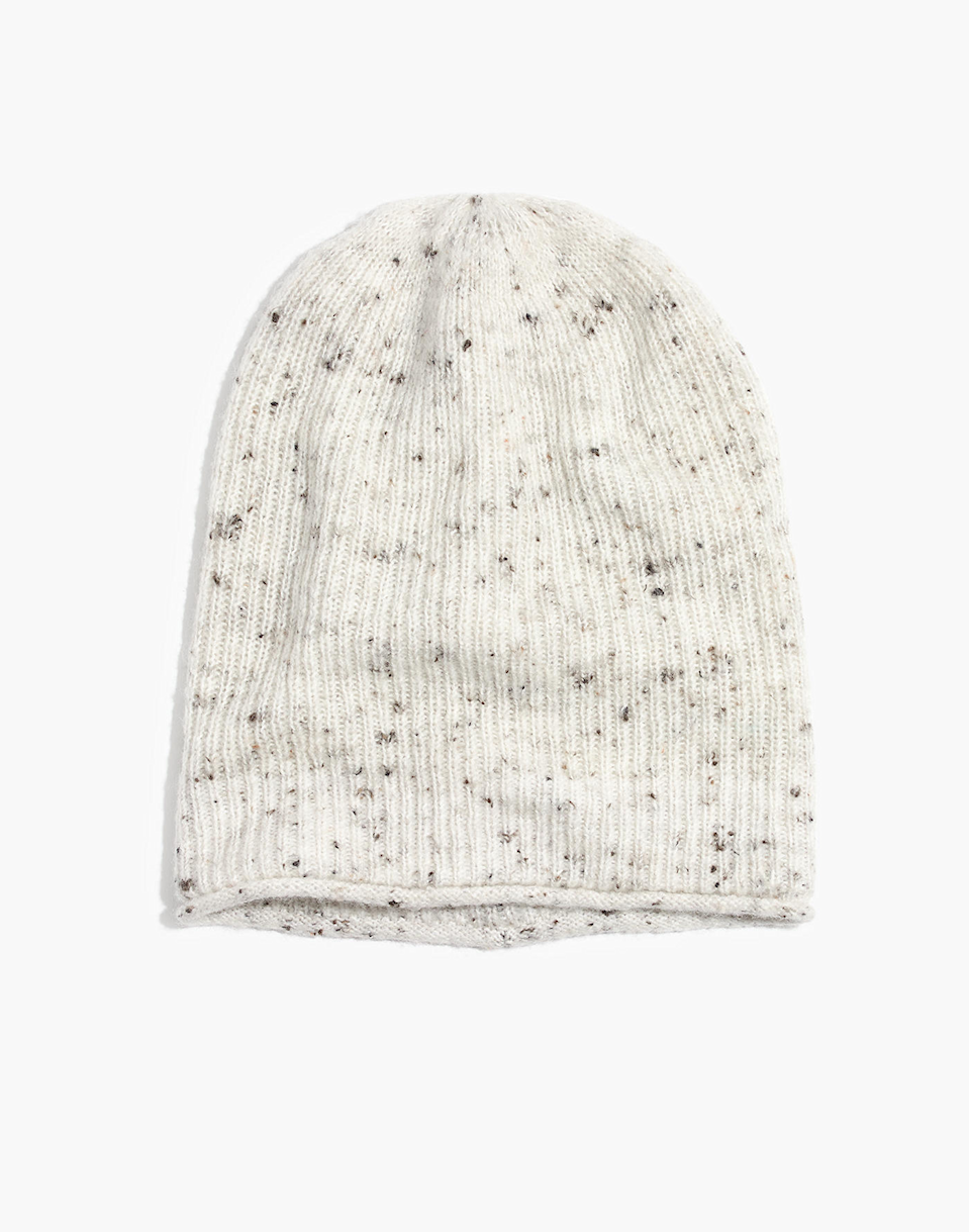 """<h3><a href=""""https://www.madewell.com/donegal-kent-beanie-in-coziest-yarn-H3444.html"""" rel=""""nofollow noopener"""" target=""""_blank"""" data-ylk=""""slk:Madewell Donegal Kent Beanie"""" class=""""link rapid-noclick-resp"""">Madewell Donegal Kent Beanie</a></h3><br>You too can be a part-time princess of the people by snagging this reader-favorite, cozy yarn beanie that is beloved by <a href=""""https://www.refinery29.com/en-us/2020/01/9265312/meghan-markle-harry-beanie-hats-cozy-fashion-canada"""" rel=""""nofollow noopener"""" target=""""_blank"""" data-ylk=""""slk:Meghan Markle"""" class=""""link rapid-noclick-resp"""">Meghan Markle</a> herself.<br><br><strong>Madewell</strong> Donegal Kent Beanie in Coziest Yarn, $, available at <a href=""""https://www.madewell.com/donegal-kent-beanie-in-coziest-yarn-H3444.html?color=NA6069&srcCode=affiliate