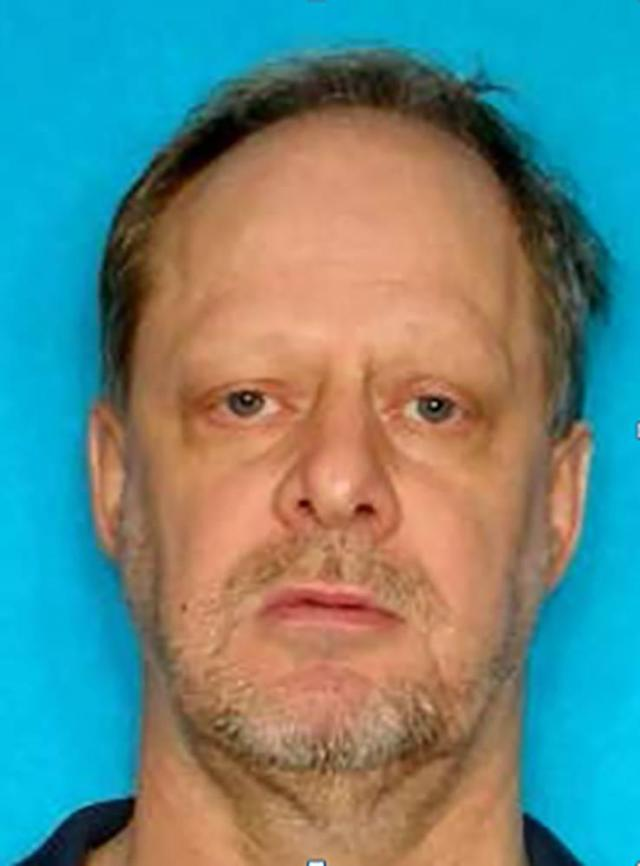 <p>Stephen Paddock's driver license photo. (U.S. government via NBC News) </p>