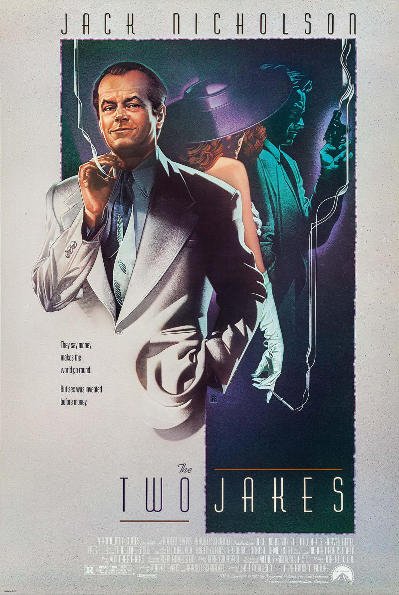 The poster for The Two Jakes. (Paramount)