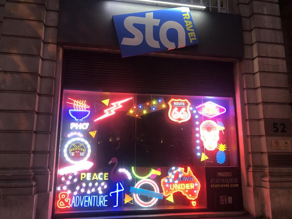 Distant dreams: the STA Travel head office in central London: Simon Calder