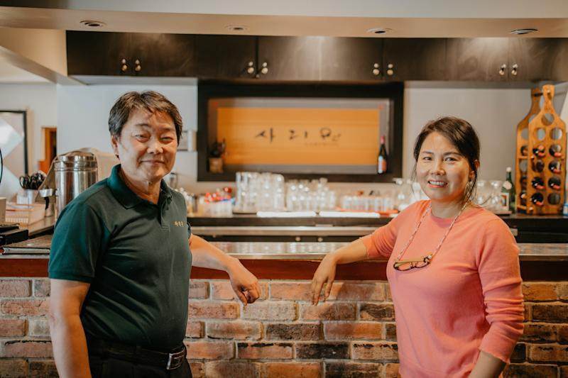 Young Hae Lee and Suk Joong Kim, the owners of Sariwon Korean BBQ in northern Toronto, have been forced to drastically change their business to adapt to COVID-19.
