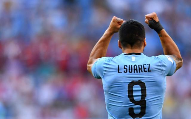 """Footballers who play on the edge tend to be divisive. That is why there has been no-one more controversial in recent World Cups than my former Liverpool team-mate Luis Suarez. Suarez has a dark past in the competition, sent off for a goal-line handball against Ghana in the quarter-final eight years ago, sent home for biting Italy's Giorgio Chiellini in 2014. He has arrived in Russia seeking redemption – to ensure his contribution to the competition is eventually celebrated for positive reasons rather than shadowed by a highlights package of provocative incidents. At 31, time is not on his side to transform perceptions of his World Cup career. Each fixture he plays from this point might be his last ever in the tournament. The shame for Suarez is too often his suspensions eclipse how good he is. For the last five years he has been the best striker in the world, although Harry Kane's form has put him in position to use this tournament to assume that mantle. There are a group of players just below Lionel Messi and Cristiano Ronaldo who would be lauded even more in another era. Suarez comes into that category. The greatest players are not only those who thrive in the greatest teams, but succeed in making average sides look good, or good sides exceptional. It is not just Suarez's individual performances that make him so great. He makes those around him better. Suarez has done this for club and country. This was especially apparent at Liverpool, where I had the chance to play alongside him for two-and-a-half years. I recall my introduction to Suarez after he moved to Anfield in 2011. He kicked me in a training session at Melwood. """"This fella is a bit different,"""" I thought. I loved it. Then I kicked him back! Luis Suarez would need a broken bone to miss a training session or a match, and even then would probably argue with the doctor about his fitness His skill was obvious – Suarez is the best Liverpool signing I played with – but the most instantly reassuring quality was h"""