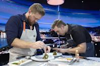 """<p><em>The Final Table </em>is a high-stakes cooking competition show made in the same vein as <em>Iron Chef</em> or <em>Master Chef</em>—intense music, countdowns, and all. <em>The Final Table </em>is structured as a global culinary experience: During each episode, teams of elite chefs create meals inspired by a specific country, and have to impress judges <em>from </em>that country.</p><p><a class=""""link rapid-noclick-resp"""" href=""""https://www.netflix.com/title/80201866"""" rel=""""nofollow noopener"""" target=""""_blank"""" data-ylk=""""slk:Watch Now"""">Watch Now</a></p>"""