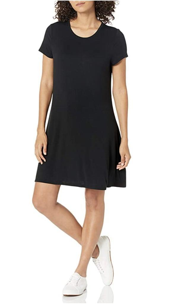 <p>You can't go wrong with this <span>Amazon Essentials Scoopneck A-Line Shirt Dress</span> ($21) for beach days, lazy weekends, or casual hangs. </p>