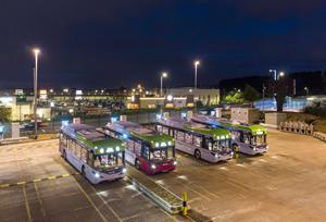 NFI - First Glasgow BYD ADL Enviro200EV zero-emission, electric buses selected as official shuttle service for COP26