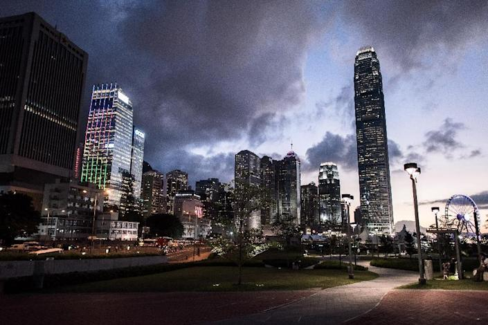 Hong Kong plays a key role in enabling wealthy Chinese to safeguard their money due to its proximity and financial freedoms (AFP Photo/Philippe Lopez)