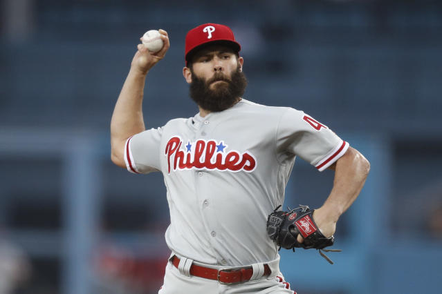 Jake Arrieta was not happy with the Phillies following Sunday's game. (AP Photo)