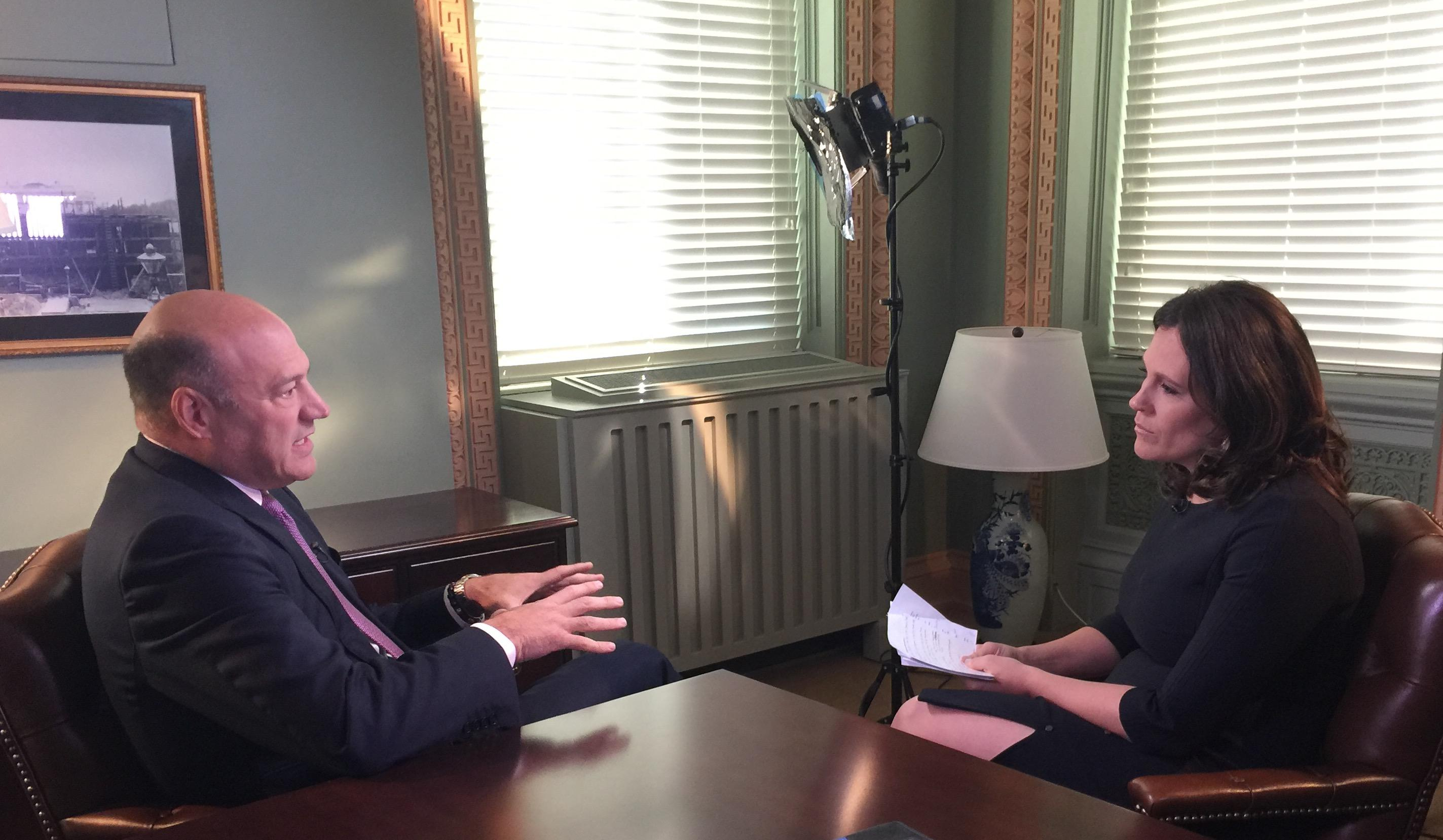 NEC Chair Gary Cohn sits down with Yahoo Finance's Nicole Sinclair in DC to talk about the tax reform framework