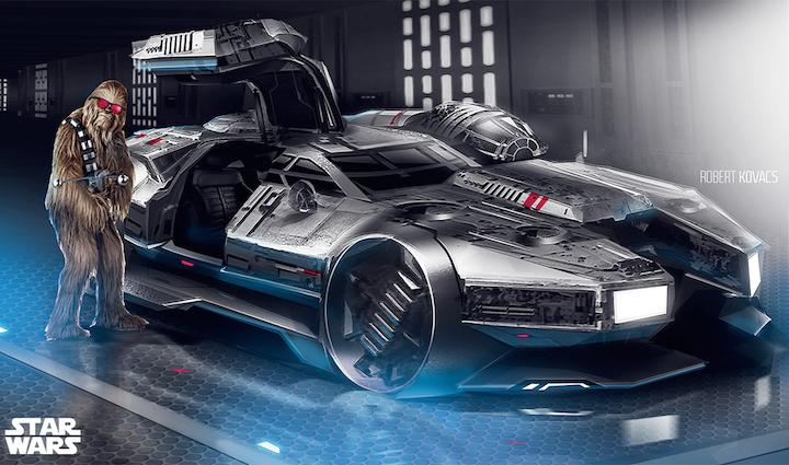 This Millennium Falcon Sports Car Is What Chewbacca Drives