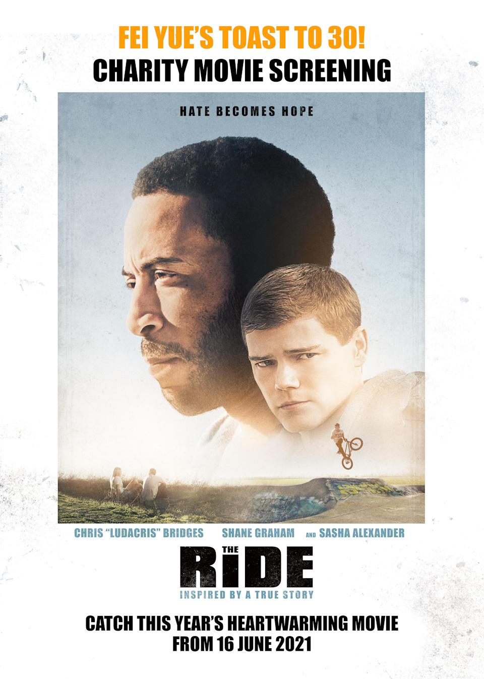 The Ride is an inspirational story of real-life BMX star John Buultjens.