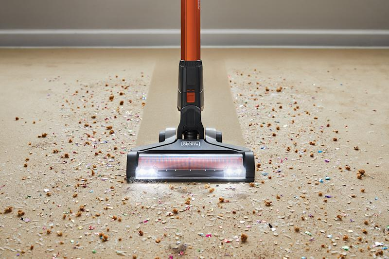 Floorhead Angle Designed For Multi-Surface Cleaning