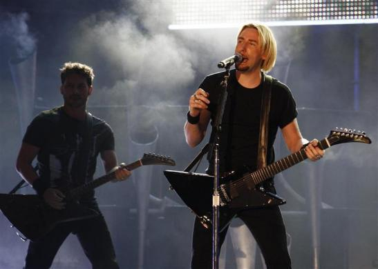 Frontman for Nickelback Chad Kroeger performs during the 2009 MuchMusic Video Awards in Toronto June 21, 2009.