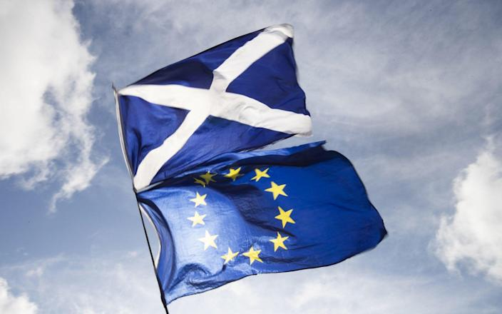Scottish Government civil servants have been accused of making a propaganda film against Brexit - PA