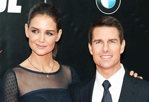 Katie Holmes and Tom Cruise | Photo Credits: Taylor Hill/FilmMagic