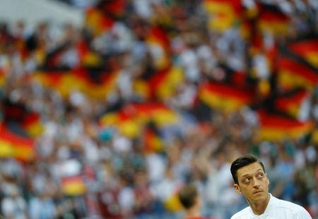 Soccer Football - World Cup - Group F - Germany vs Mexico - Luzhniki Stadium, Moscow, Russia - June 17, 2018 Germany's Mesut Ozil before the match REUTERS/Kai Pfaffenbach