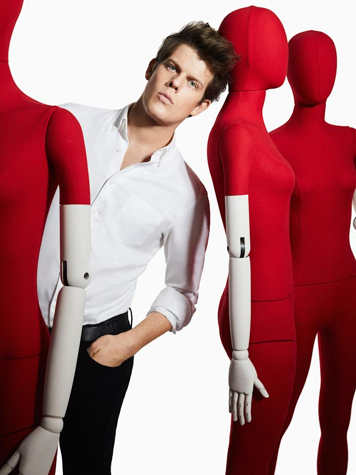 "<div class=""caption""> Wes Gordon of Carolina Herrera </div> <cite class=""credit"">Photo: Courtesy of the Designer</cite>"