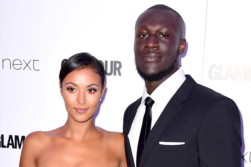 Adorable: Maya Jama posted a tribute to Stormzy: Ian West/PA Wire/PA Images
