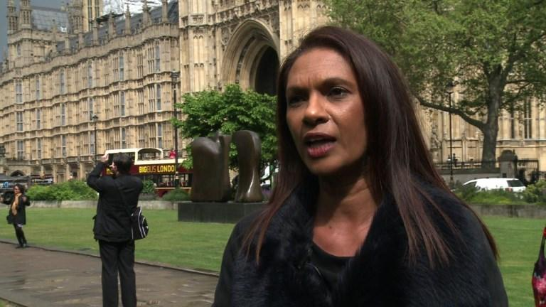 "A businesswoman who took the British government to court to force a parliamentary vote on the UK's split from the EU launches a campaign to oppose an ""extreme Brexit"". Gina Miller says her Best For Britain initiative would target marginal seats in the June 8 general election in a bid to return members of parliament who are committed to keeping the UK's Brexit options open."