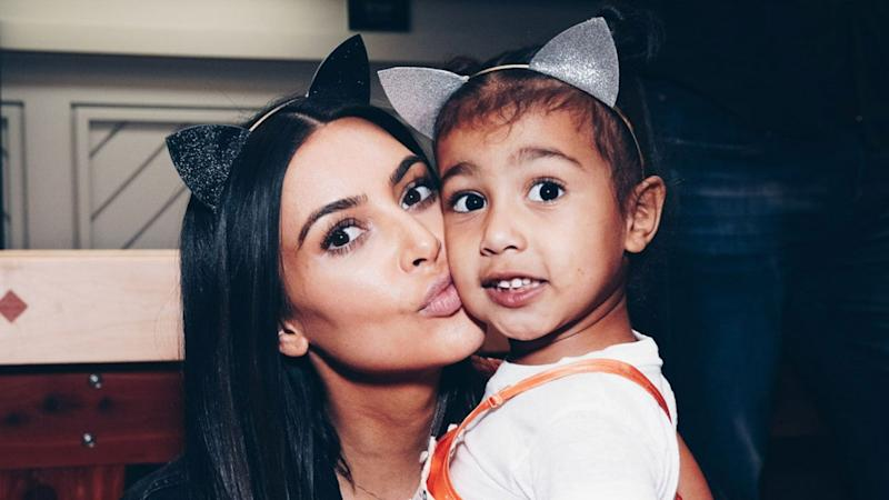 Kim Kardashian Delayed Giving Birth to North West by Two Hours to Get a Manicure