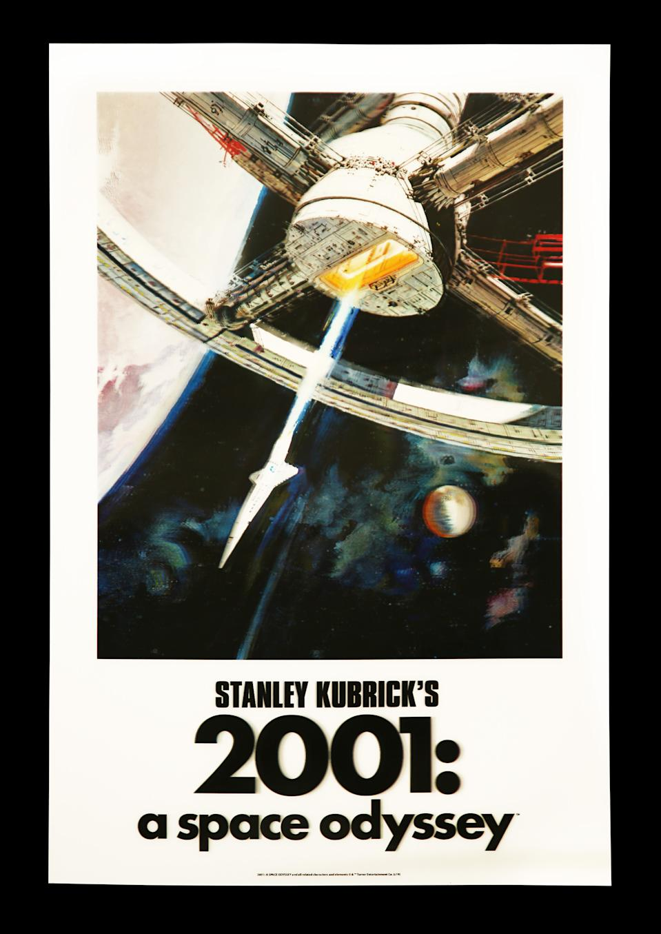 <p>2001: A SPACE ODYSSEY (1968) - Bottleneck Gallery Lenticular One-Sheet, 2020 est. £200 - £300 (Prop Store)</p>