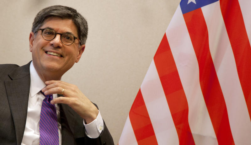 US Treasury chief urges EU to ease off austerity