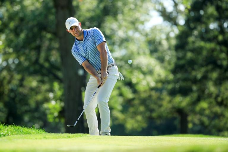 McIlroy and Cantlay share lead at challenging Olympia Fields