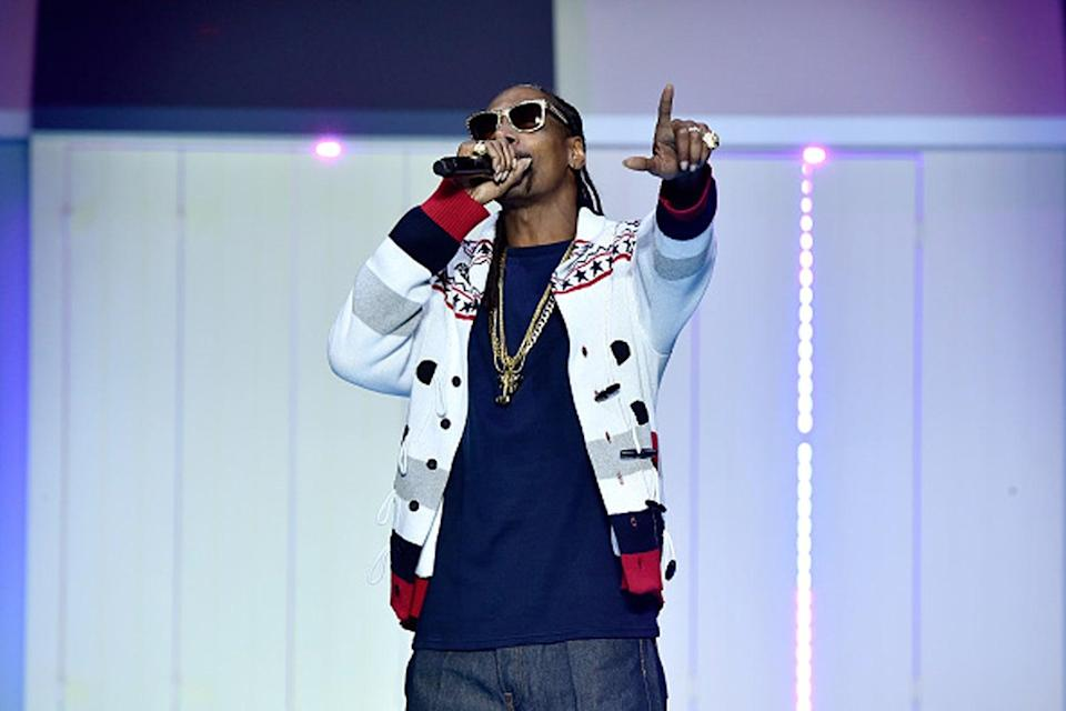 <p>Snoop Dogg is a partner in cannabis-focused VC firm, Casa Verde, which invested $10 million in OCT back in 2018 and will own around 2% of the company post-IPO</p> (Getty)