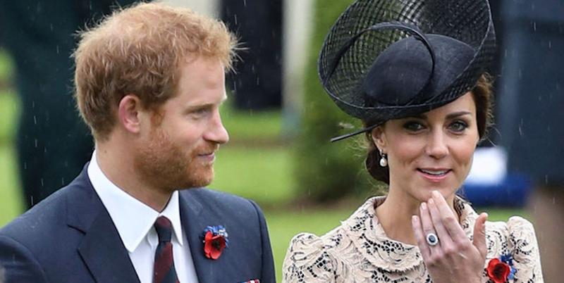 Prince Harry Actually Inherited Princess Diana's Iconic Engagement Ring, But He Let Kate Middleton Have It